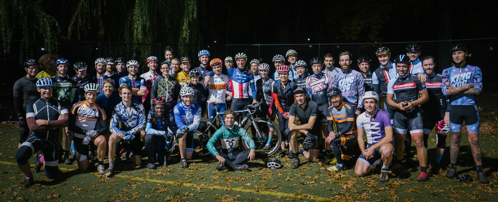 National cyclocross champion Jeremy Powers paid a visit to Wednesday Night Cyclocross Practice ( see the TBD Journal Post )