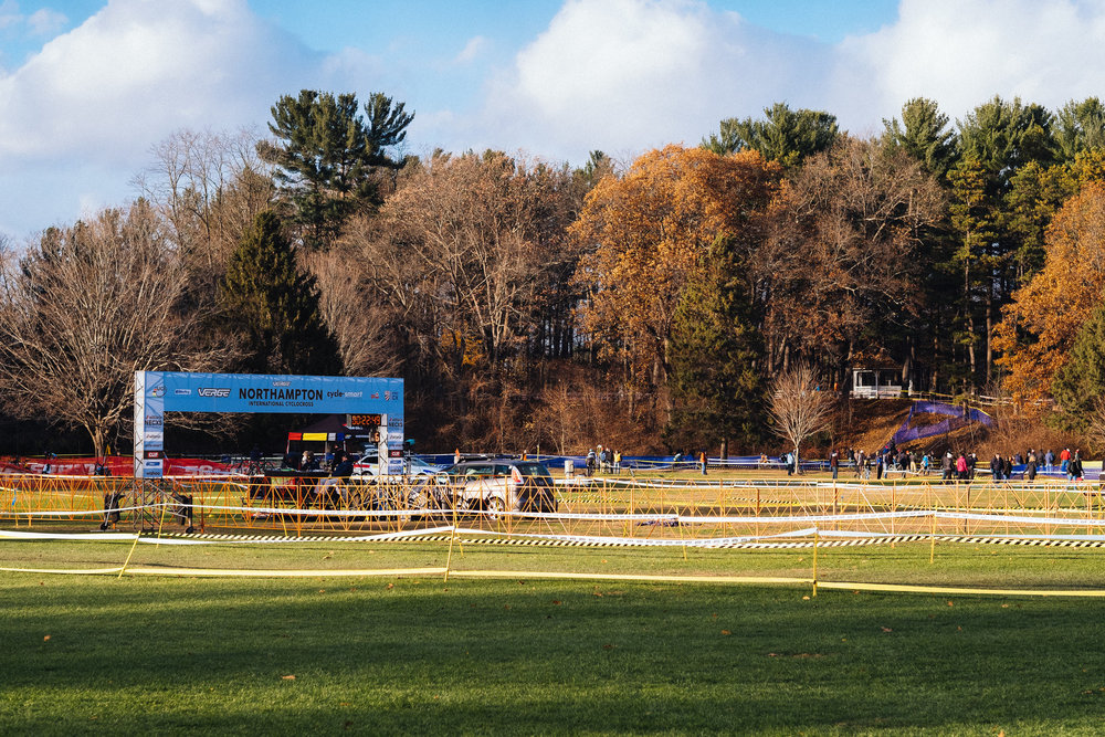 The venue at Northhampton International Cyclocross, one of our favorite UCI regional races ( see all Noho CX coverage on the TBD Journal )