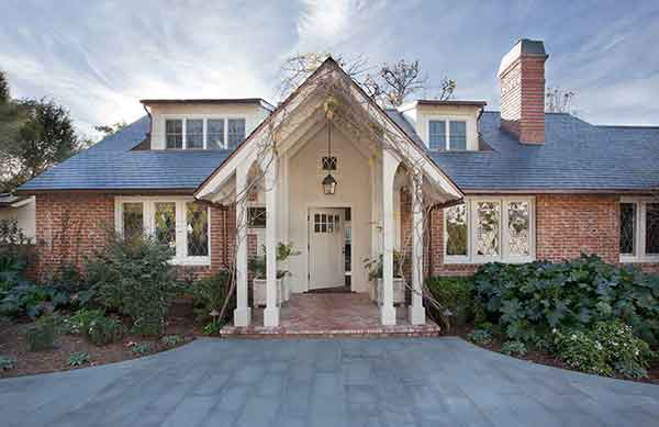Traditional Home in Pacific Palisades