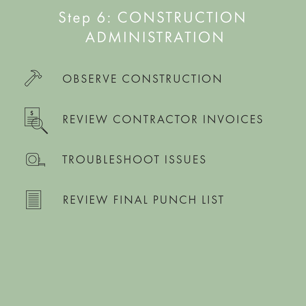 Phase 6: Construction Administration (CA)