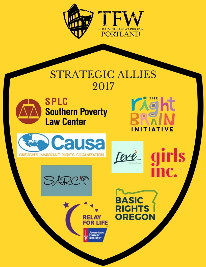 2017 Strategic Allies with Training for Warriors Portland