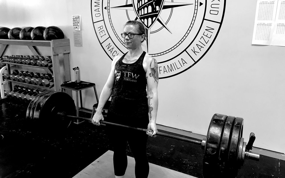 Pound for Pound Powerlifting Workshop at Training for Warriors Portland