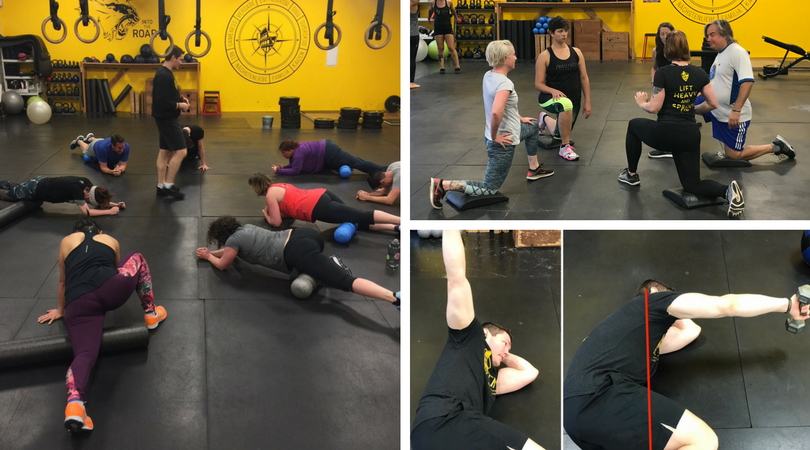Training for Warriors Portland Mobility Clinic Jan 2018