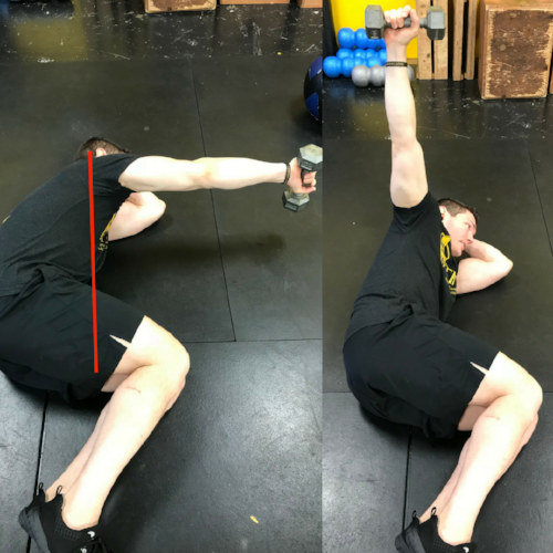 rear delt Training for Warriors Portland