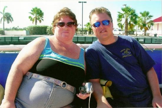 The start of Debbie's fitness journey