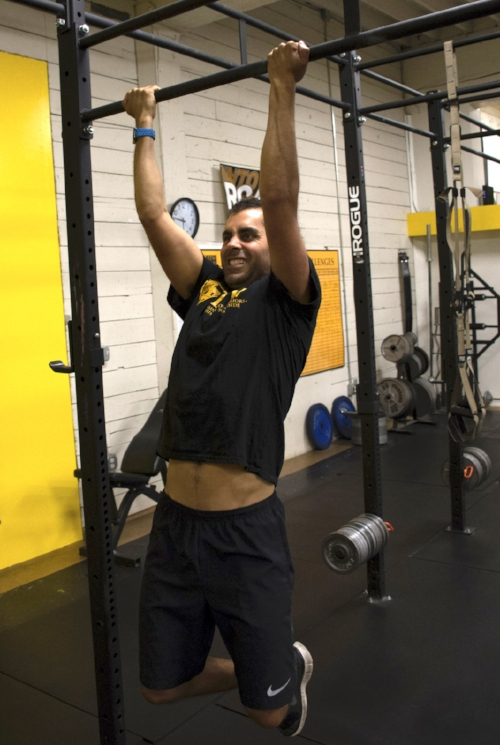 Aziz gets after it at Training for Warriors Portland