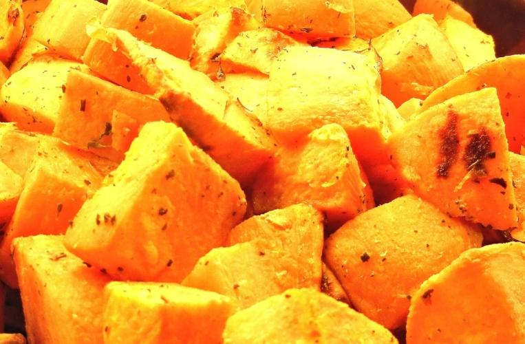 Sweet potatoes for energy... and beta-carotene!
