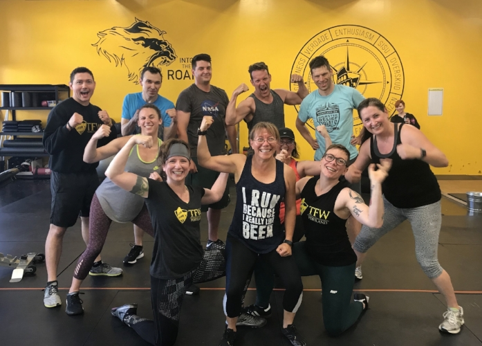 Exercise is a pretty great habit! TFW Portland