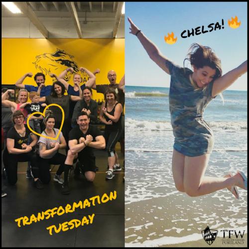 Transformation Tuesday Chelsa