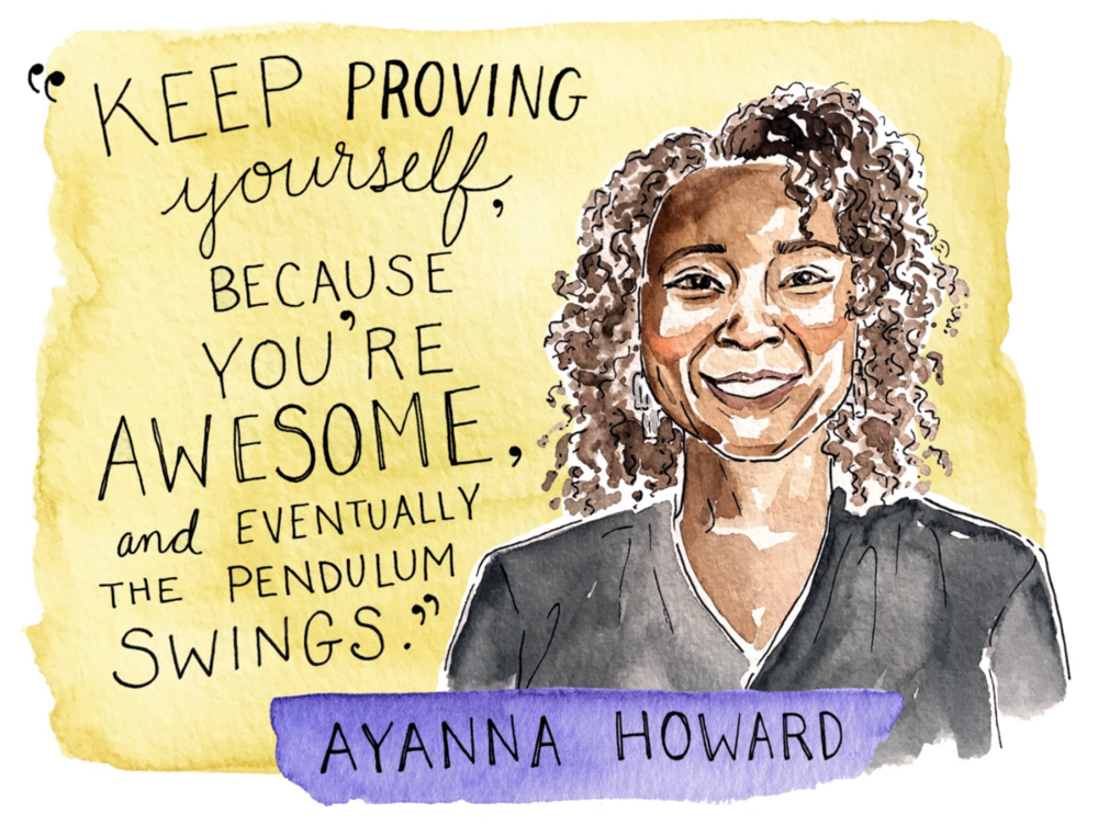 "Ayanna Howard    Ayanna Howard  is a lot of things: a successful entrepreneur, a pioneering roboticist, the head of Georgia Tech's School of Interactive Computing, and one of  Business Insider's  ""Most Powerful Women Engineers."" These days, she's working to design a cutting-edge robot that can help children with special needs live healthier, better lives."