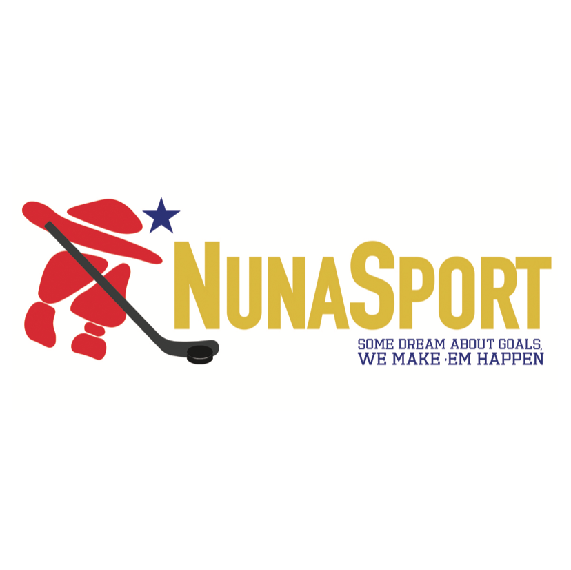 NunaSport  | Arviat  NunaSport is an Inuit-owned sporting equipment and sportswear lifestyle brand based in Arviat, Nunavut, primarily focused on Hockey. NunaSport will be selling new and used sports equipment for the entire family and aim for most of the local residents to participate in sports events.