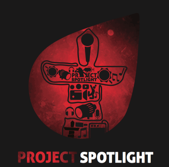 Project Spotlight  | Baker Lake  Project Spotlight is an innovative youth program focussed on utilizing the performing arts, music, motivational speaking and digital technology as a tool to help youth realize their potential and inspirational drive.