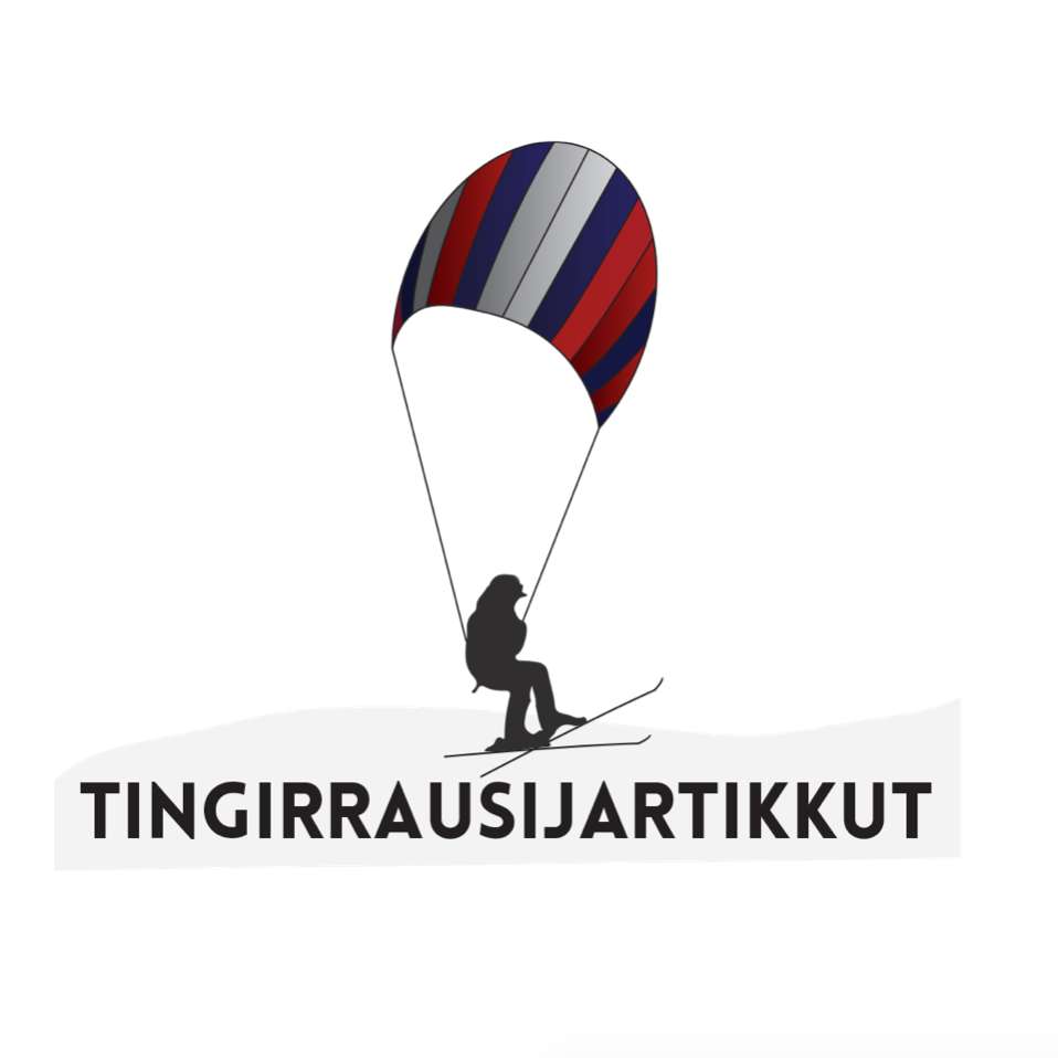 "Tingirrausijartikkut  | Igloolik  Tingirrausijartikkut ""Kite-Skiing"" rents kite-skiing equipment and offers courses for those interested in learning how to do kite-skiing. The business will also be home to the Kite Skiing Club, which is an opportunity for youth, teenagers and adults to engage in positive and healthy sports activities."