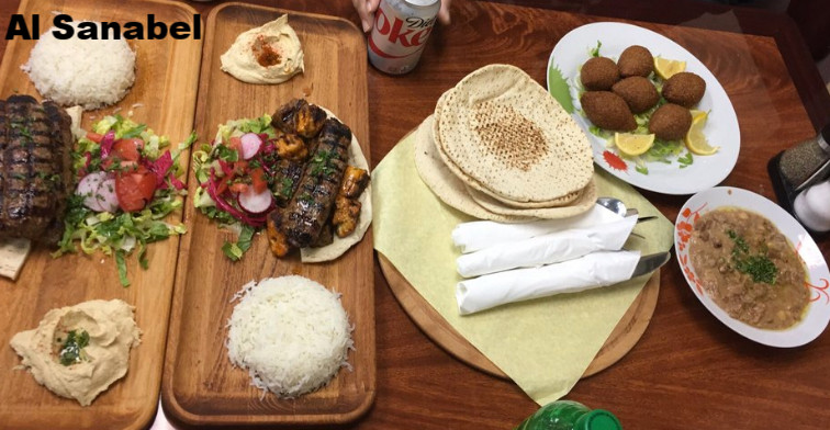 Al-Sanabel  (set menu) 816 S. Brookhurst St., Anaheim Ramadan Hours: 11 am - 4 am Call for info & reservation: 714635-4353