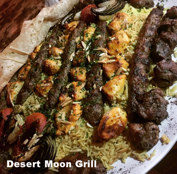 Desert Moon Grill 888 S. Brookhurst St., Anaheim Call for info & reservation: 714-533-6601