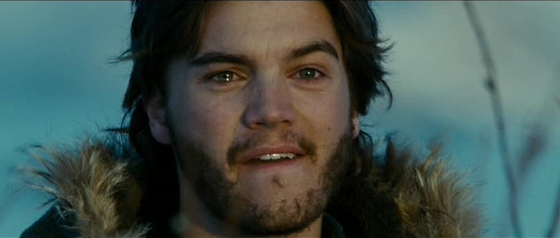 Emile Hirsh as Christopher McCandless (Into the Wild)
