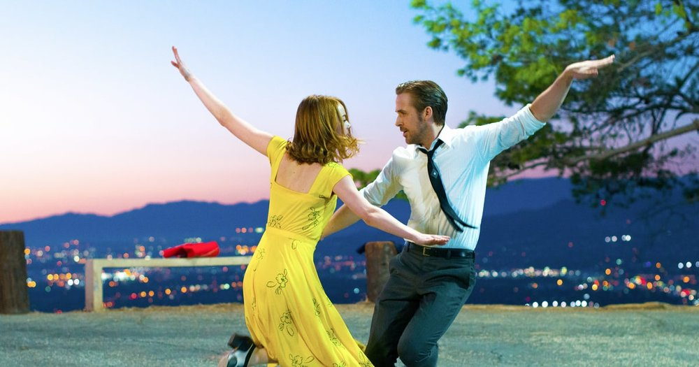 Life is but a song: Emma Stone and Ryan Gosling in La La Land