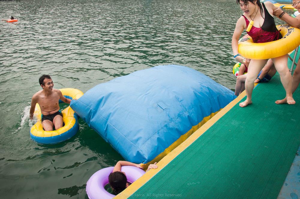 Pushed In, Yun Tai Shan Waterpark, China, 2011