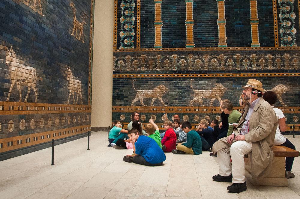 Distraction, Gates of Babylon, Pergamon Museum, Berlin, 2015