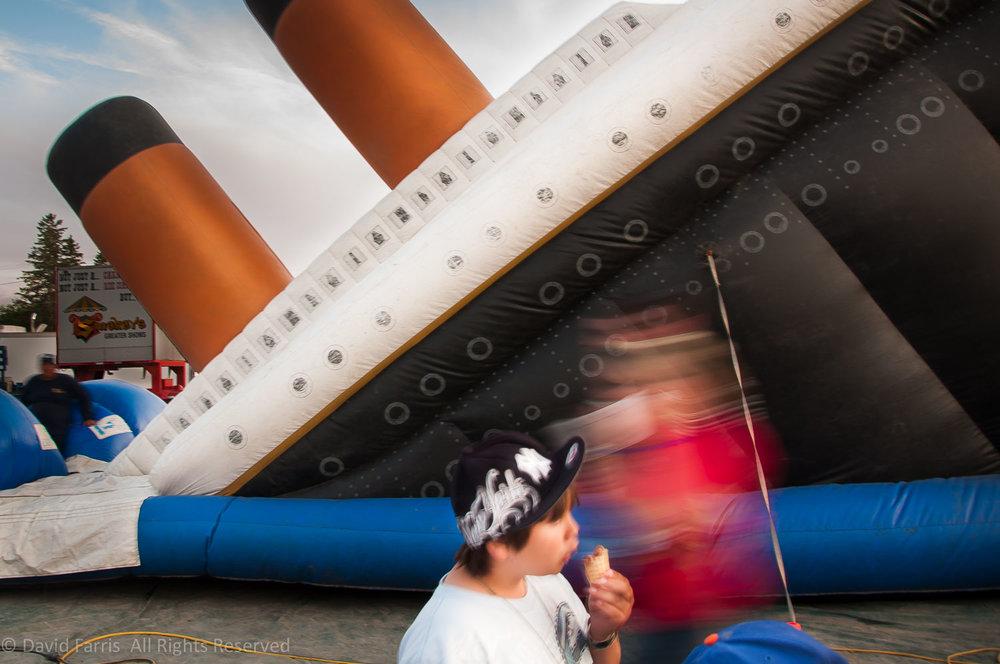 Titanic, Aroostook County Fair, Presque Isle, Maine, 2011