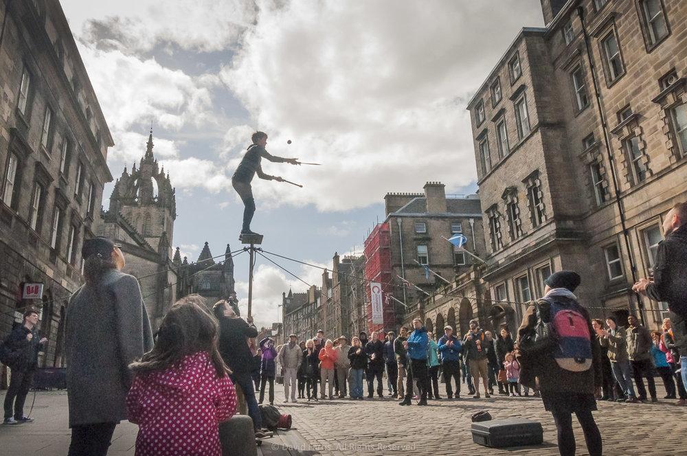 Juggler, Edinburgh, 2016