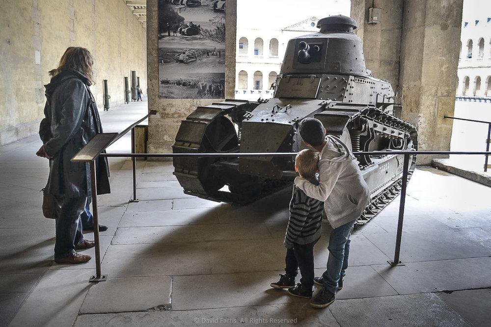 Tank, Musée de l'Armée, Paris, 2014