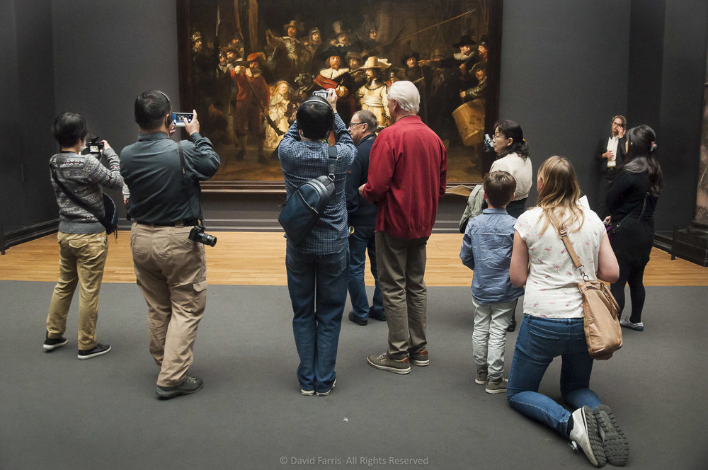 Night Watch, Rijksmuseum, Amsterdam, 2015