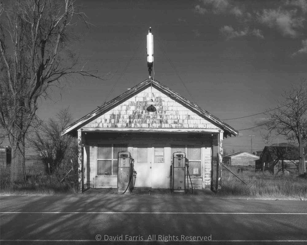 Filling Station, Kent, Oregon