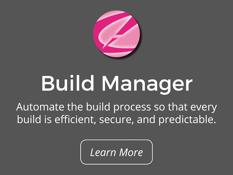 Teamstudio Build Manager