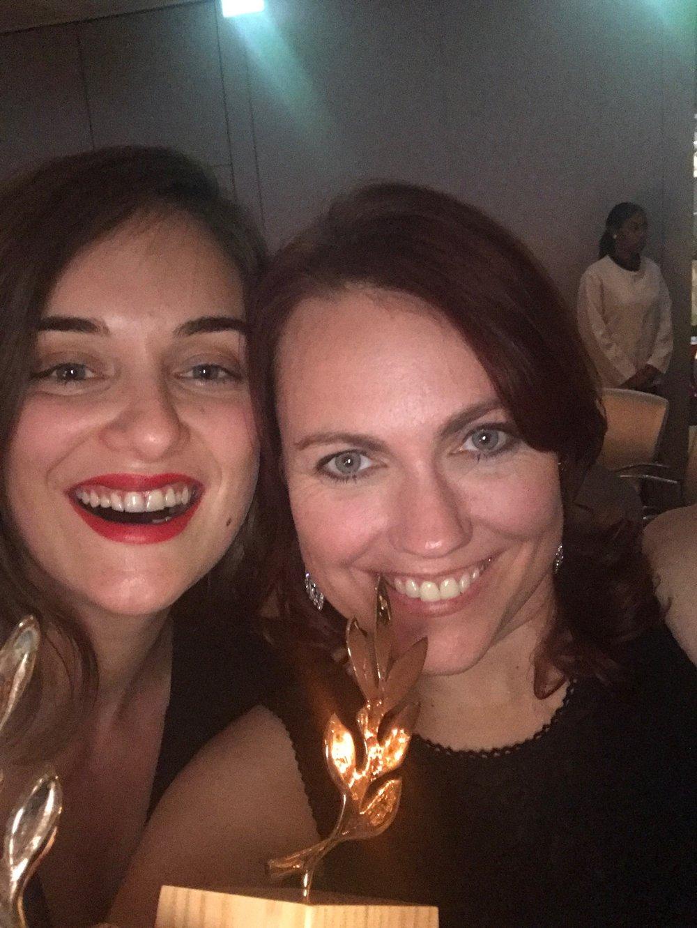 Katrina German winner of women in tech award 2019