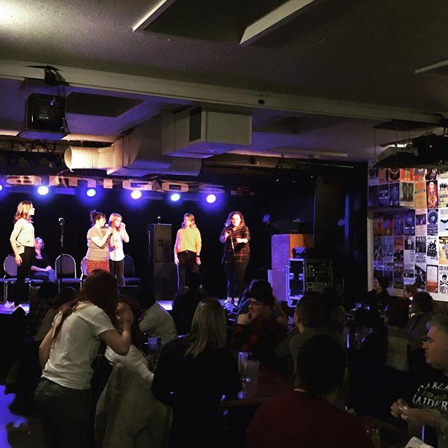 Loving the Lady Bits Improv show! Congrats to Amigos on their 30th Anniversary #yxe #saskatoon #ladybits #improv #amigos #comedy #womenincomedy @ladybits_yxe