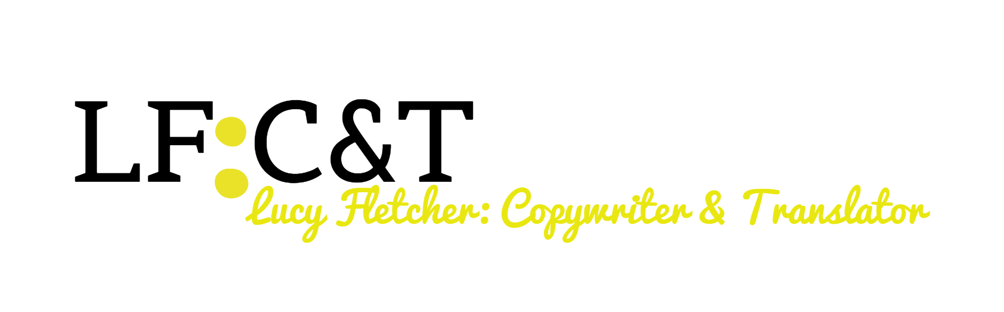 Lucy Fletcher: Copywriter & Translator