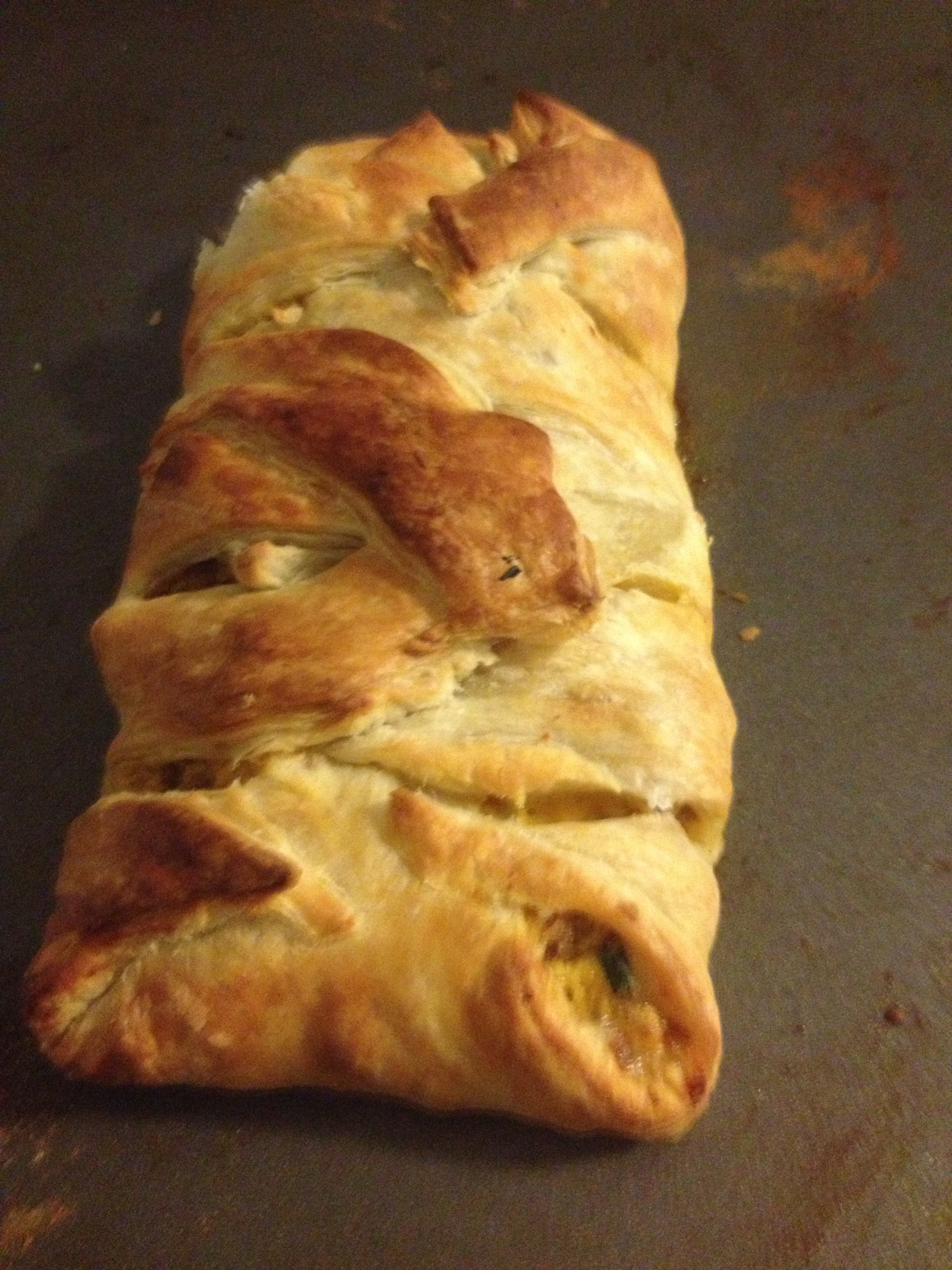 Breakfast Puff Pastry!