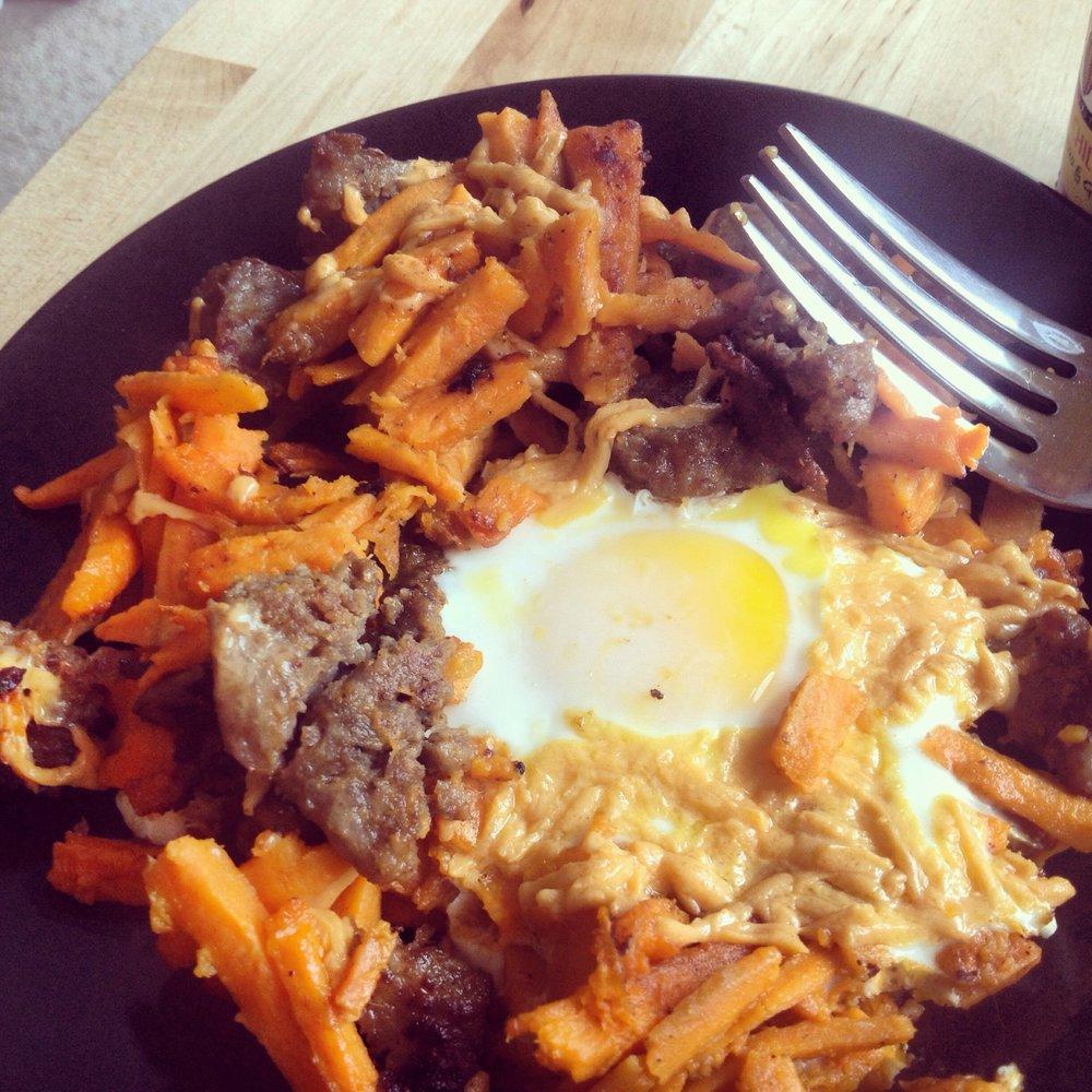 sweet potato breakfast bake