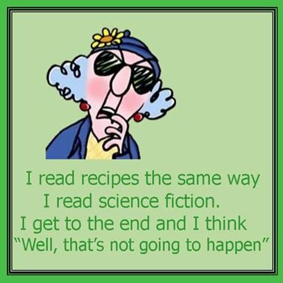 scifi recipe