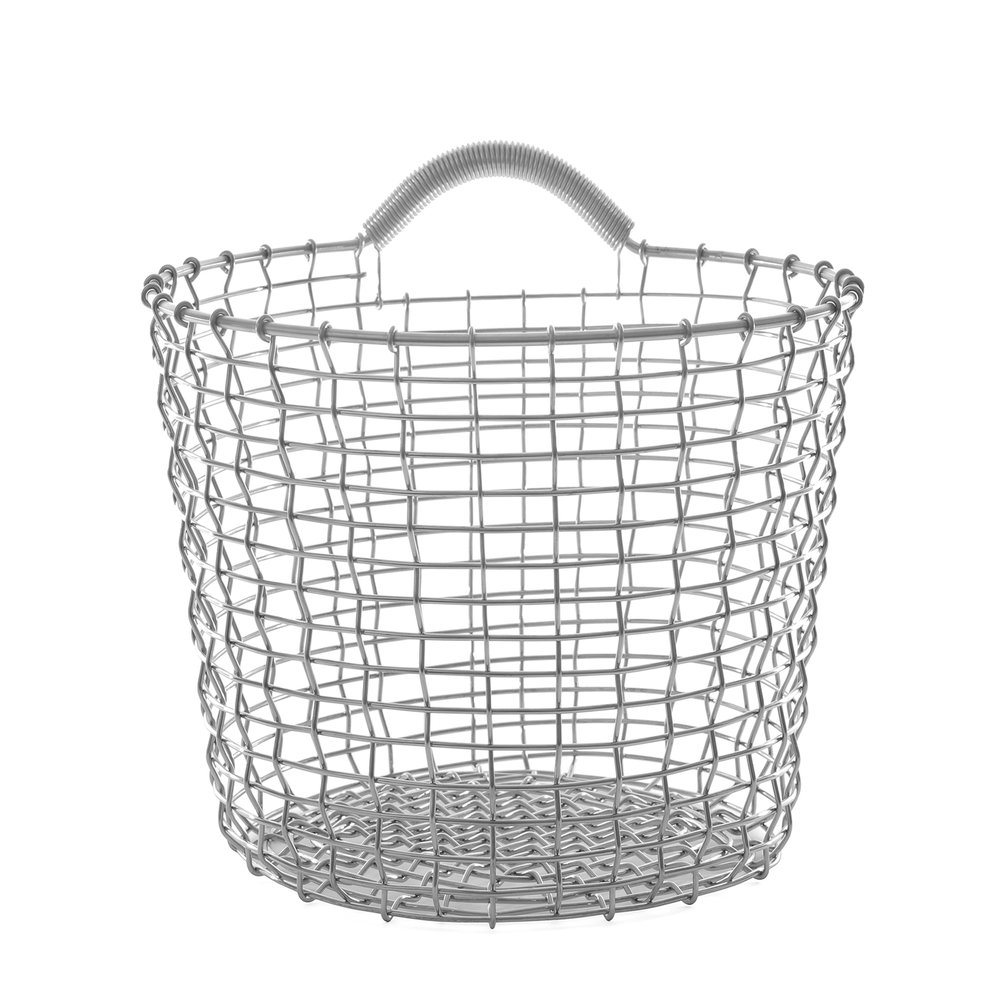 perfect wallstorage with Bin 16 Binhanger and Basket Liner all from Korbo