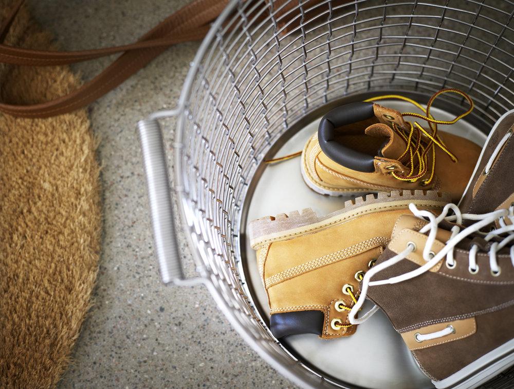 Shoe storage for your hallway