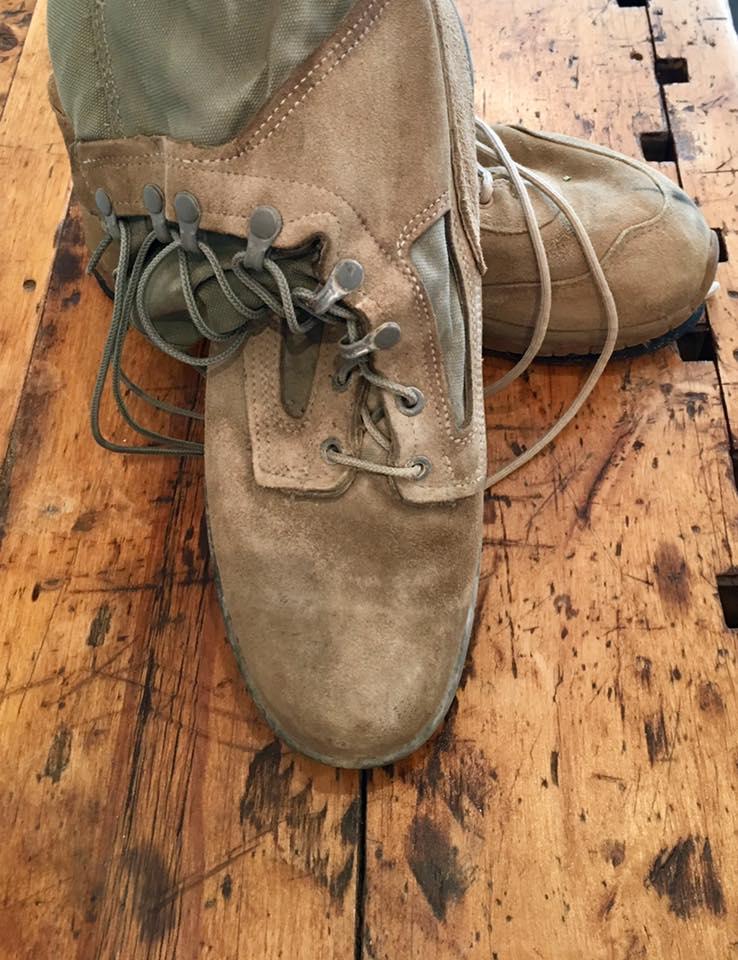 The last pair worn