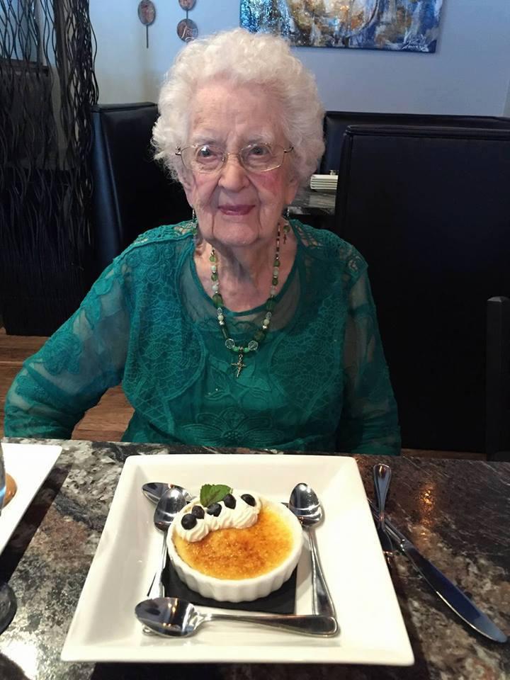 My Mom on her 97th Birthday!