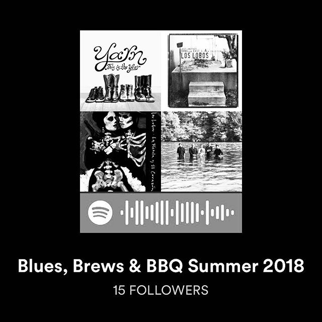 We are stoked to be back for @snowbasinresort Blues Brews & BBQ 2018 (July 1st & September 9th) Go follow this @spotify playlist of the bands that will be performing this summer.