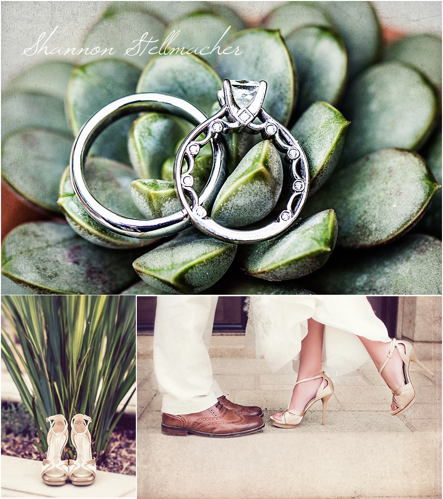 Vintage wedding shoes Napa