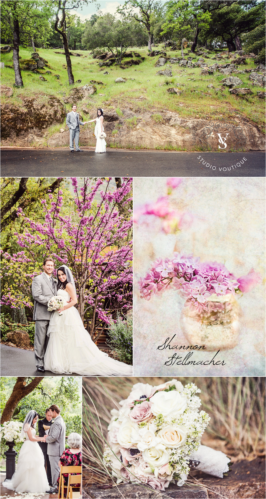 Calistoga Ranch Wedding Spring