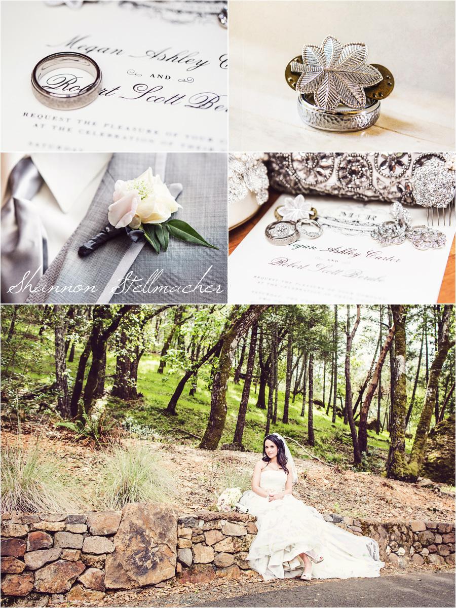 calistoga ranch wedding details