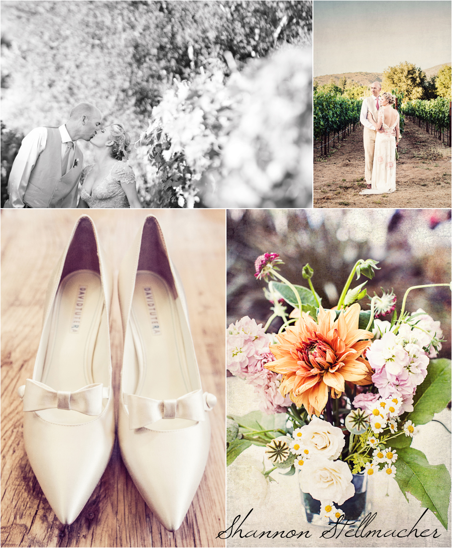 romantic napa wedding