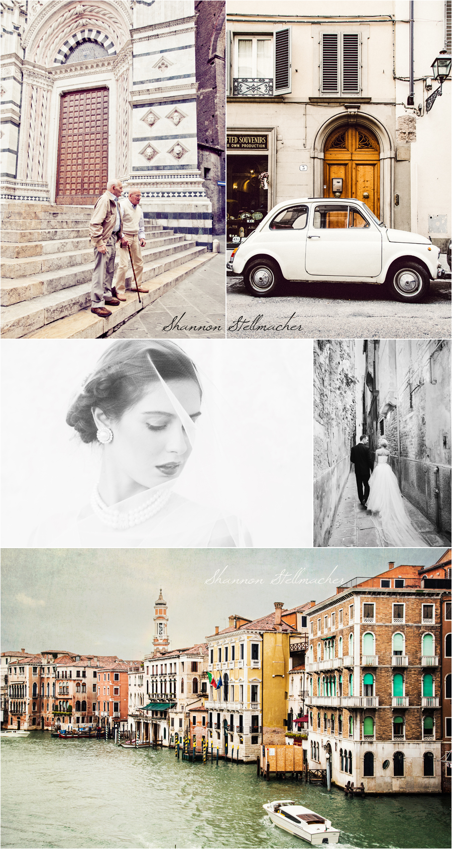 Bridal Shoot Venice and Siena