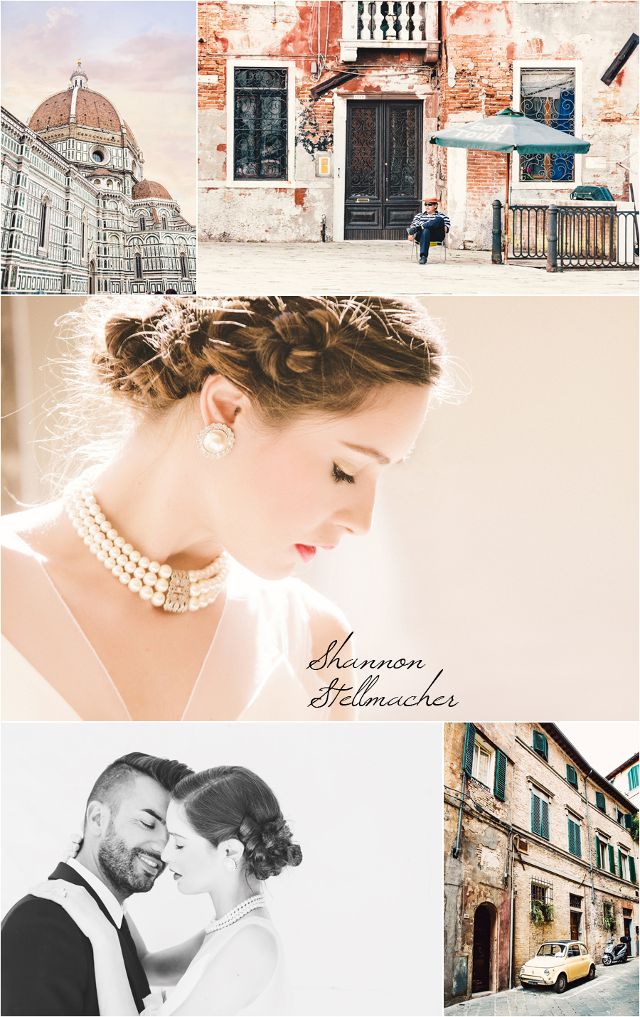 Venice and Florence Bridal Shoot