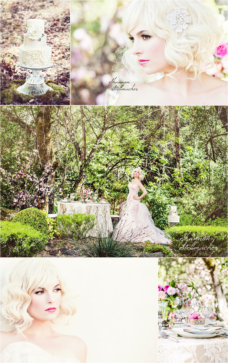 Calistoga Ranch Bridal Shoot