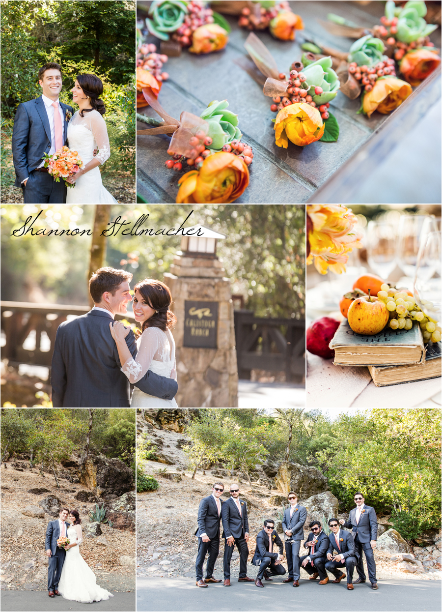 Calistoga Ranch Fall Wedding