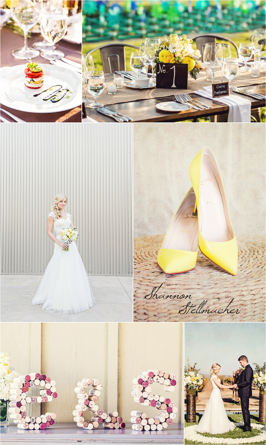 Yellow Wedding Sonoma
