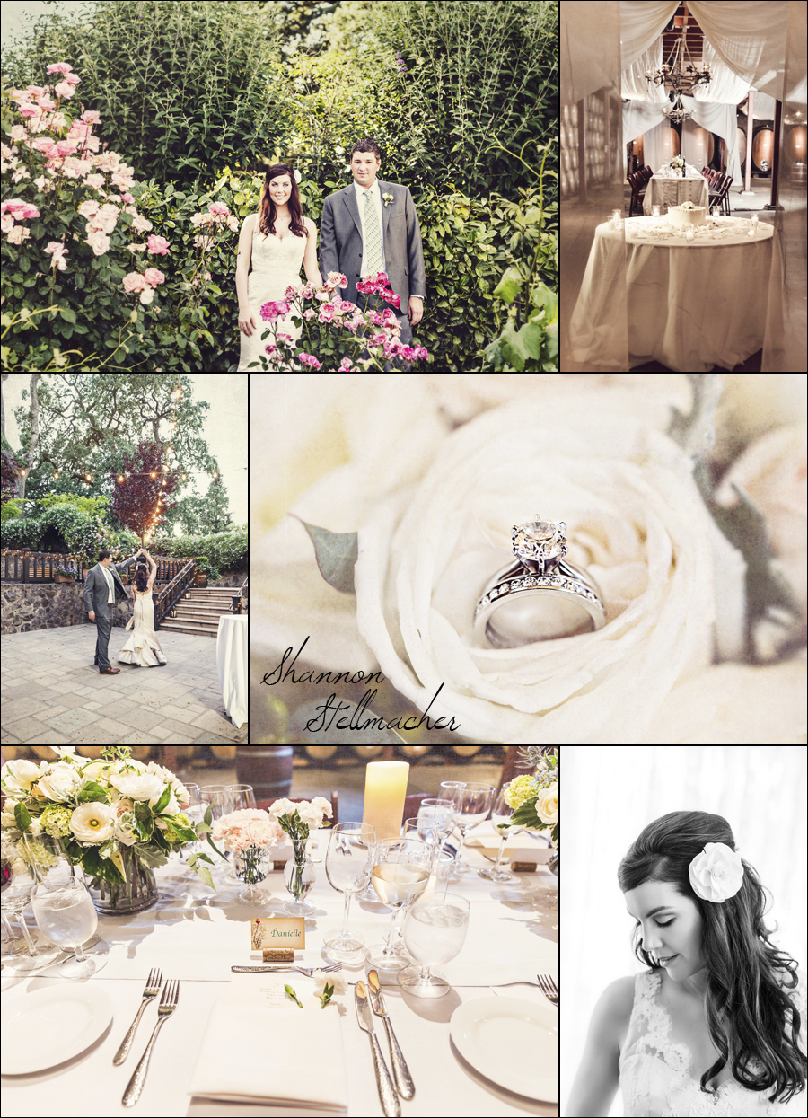 Napa Wedding at V. Sattui Winery